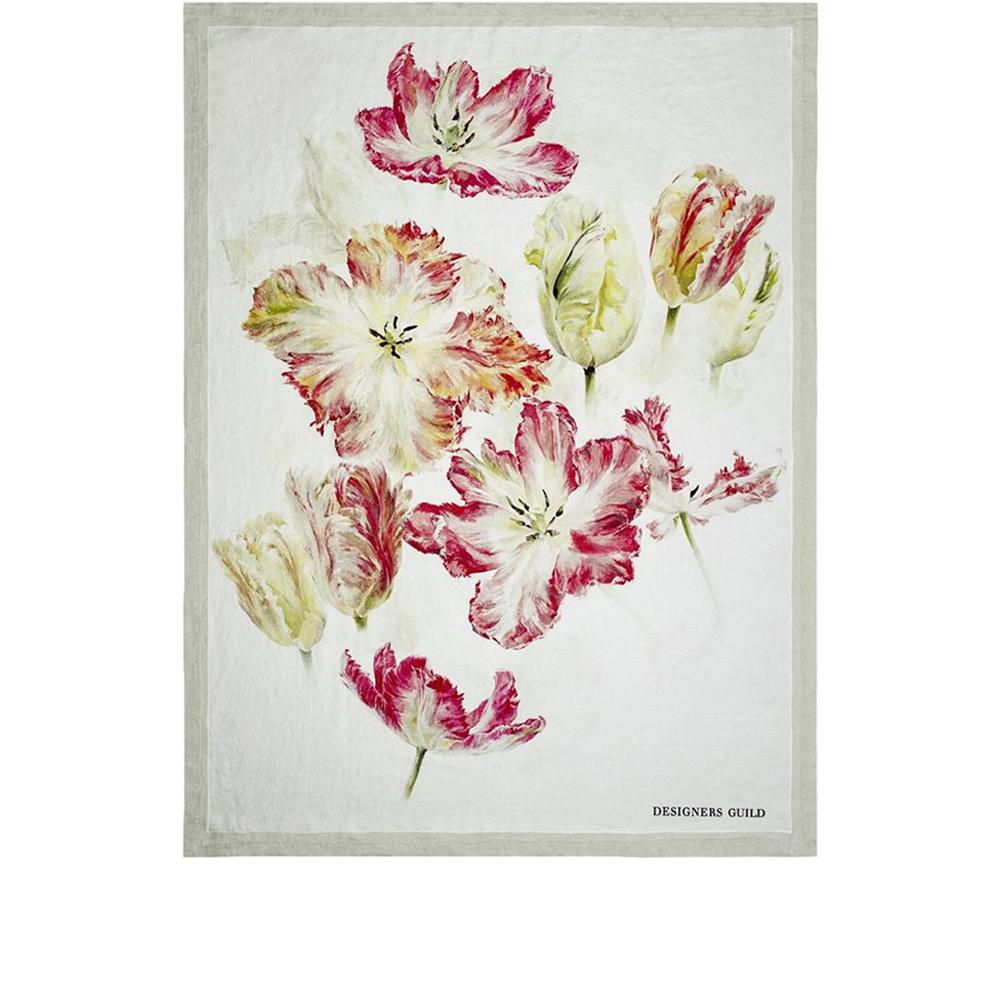 Designers Guild - Tagesdecke Spring Tulip Buttermilk