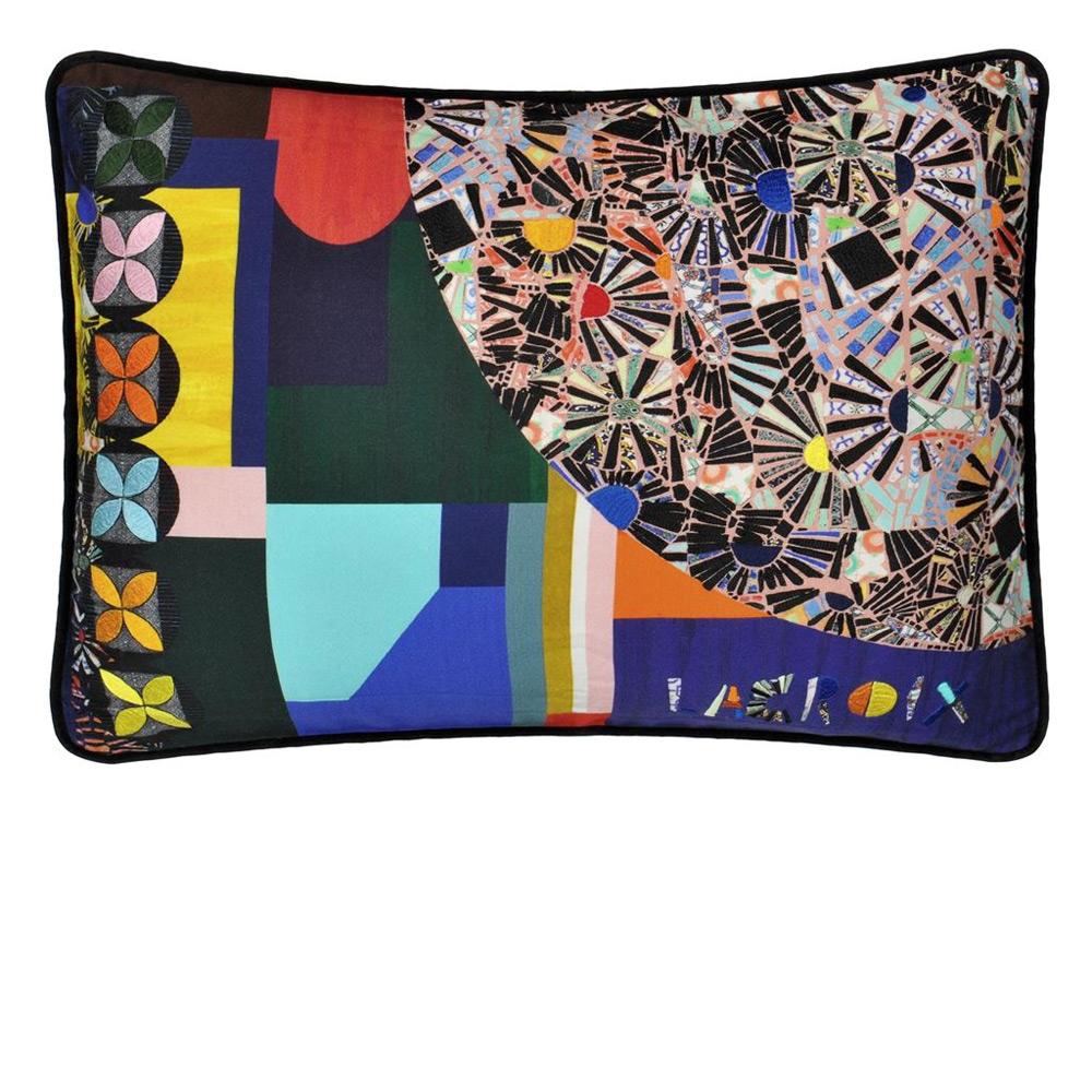 Christian Lacroix Kissen Mosaic Freak Multicolor - Vorderseite