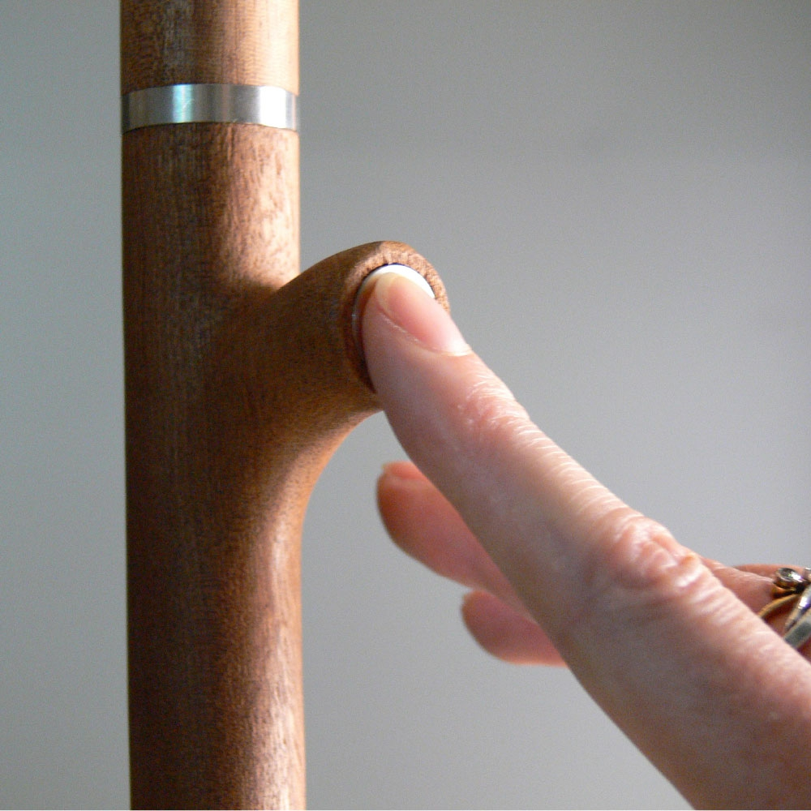 96 Molecules - Tall Floor Lamp - Gestell mit integriertem Dimmer