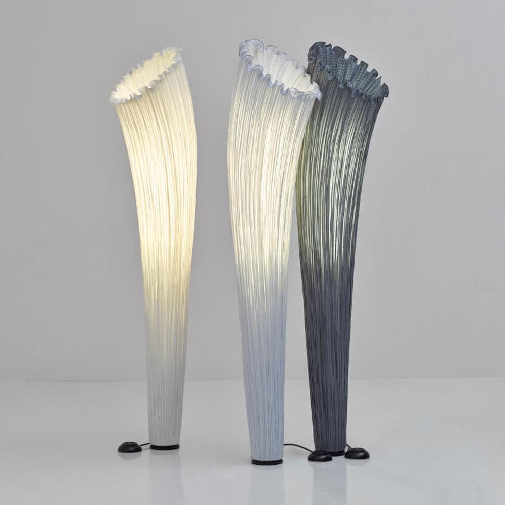 Aqua Creations Stehleuchte Horn - Farben cream & silver & stone