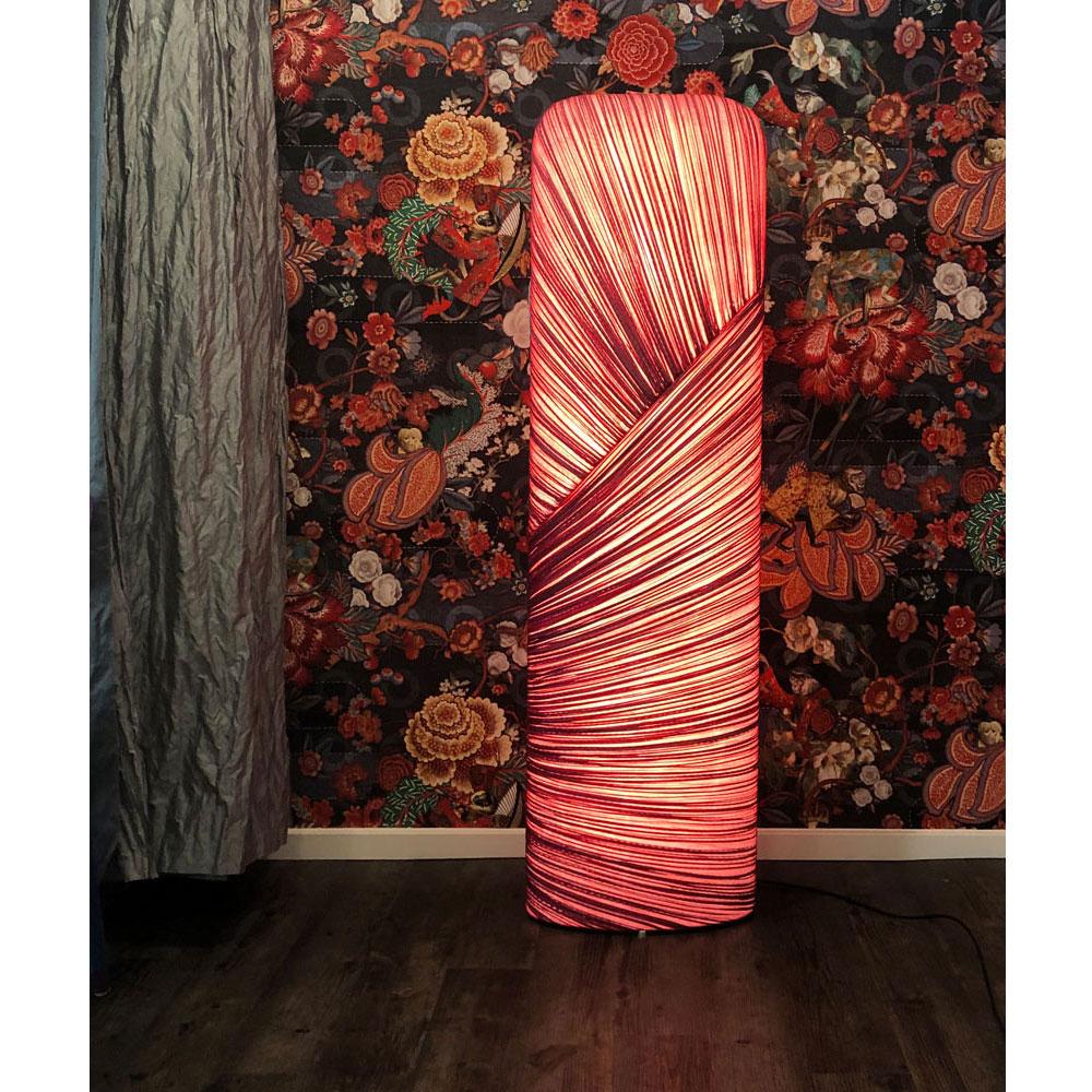 Aqua Creations Stehleuchte Mino 18 - Farbe - Red/ rotviolett