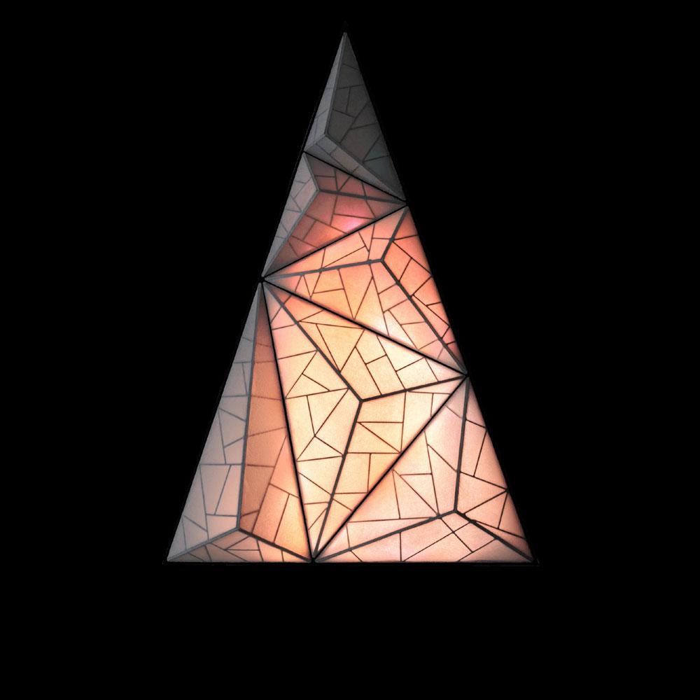 Aqua Creations Wand & Deckenleuchte Zooid Tree - Licht in 3 Farbvariationen