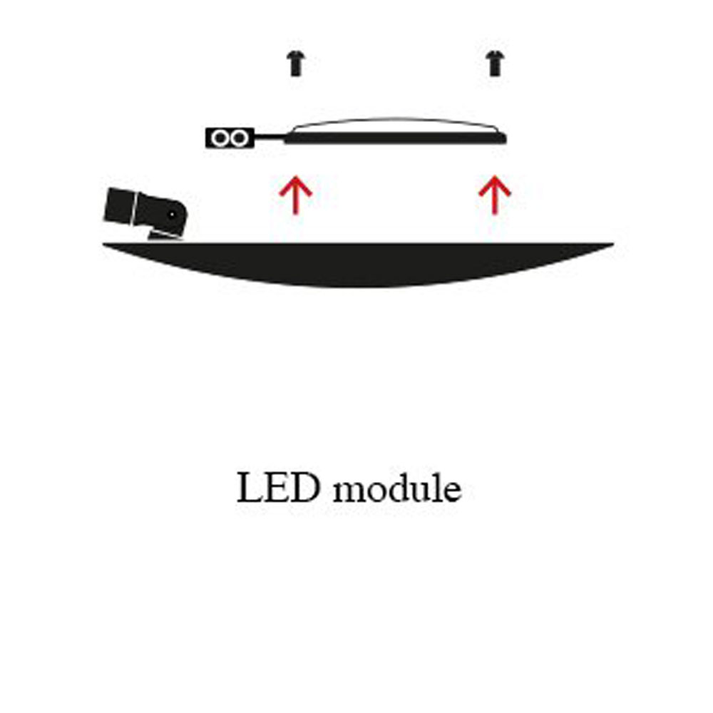 Lederam F0 - austauschbare LED