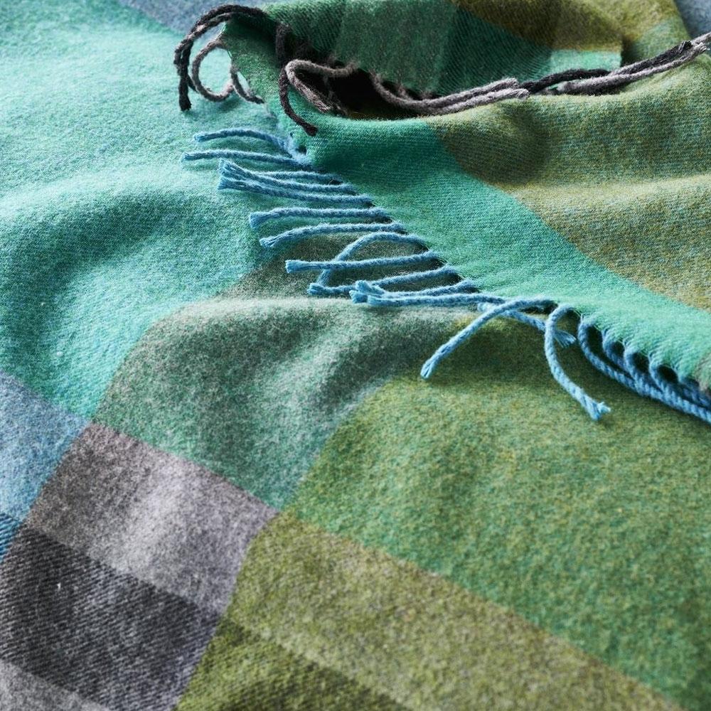 Bampton Emerald Throw - Detailansicht