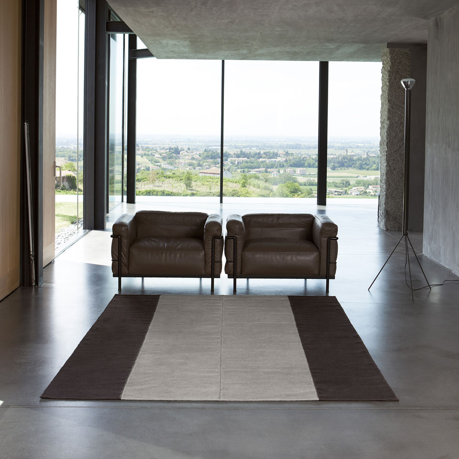 teppich ponto 4 farben von kinnasand f r 380 00. Black Bedroom Furniture Sets. Home Design Ideas