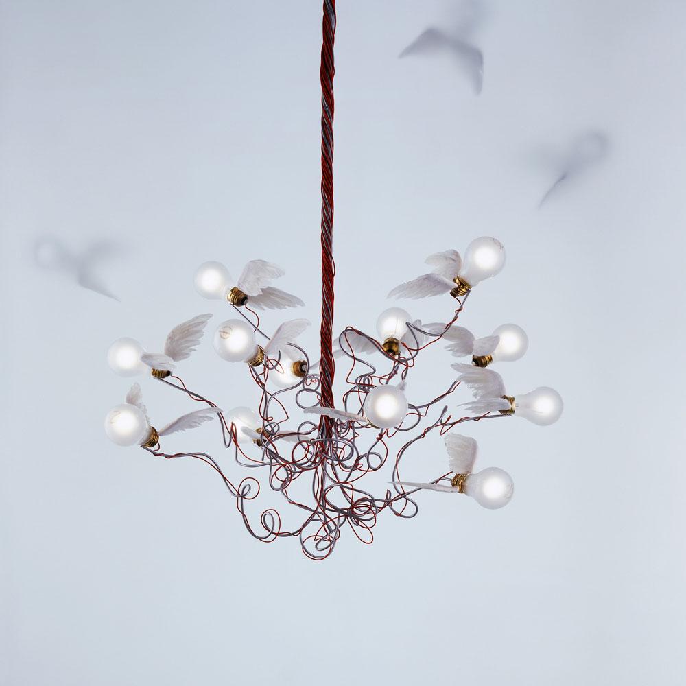 Birdie - rote Kabel