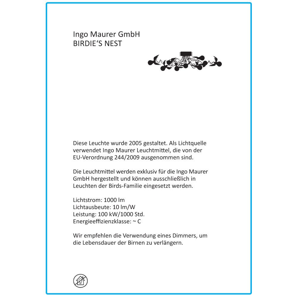 Birdie's Nest - EU Label