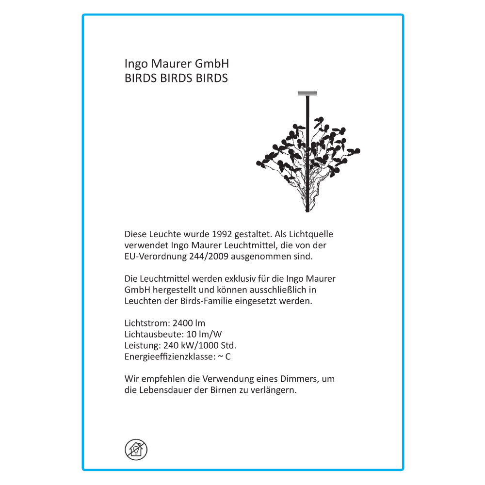 Birds Birds Birds - EU Label