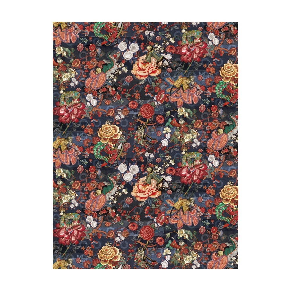 Moooi Carpets - Rendezvous Tokyo Blue Rectancle - Farbe Indigo