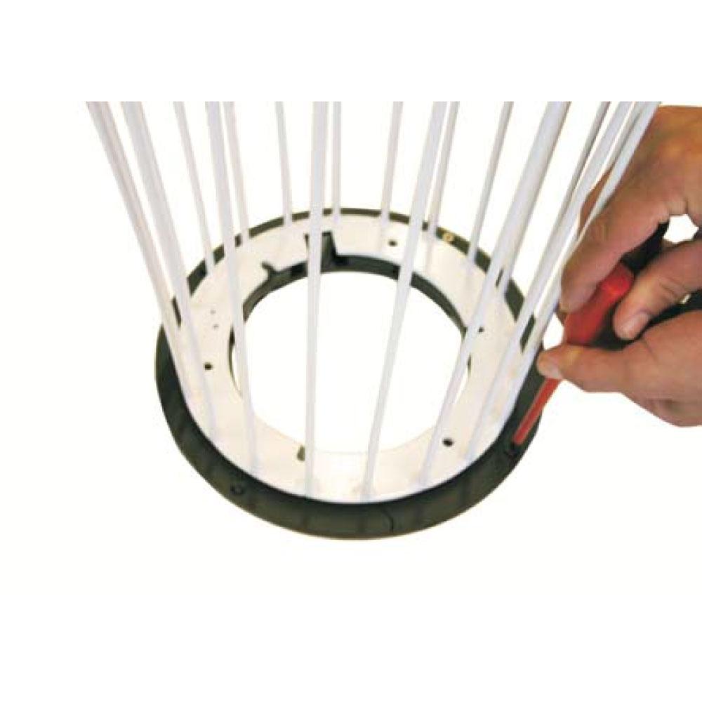 Aqua Creations Bodenbefestigungsring - Horn