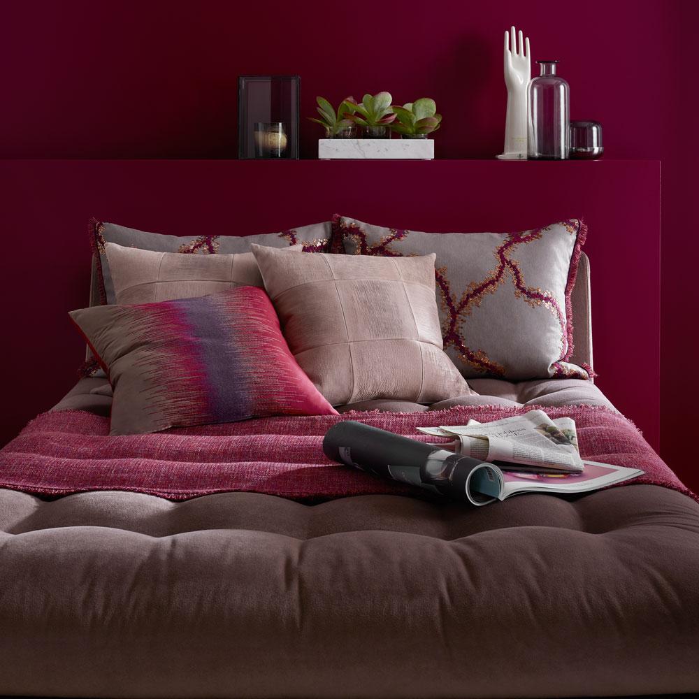 Bordino - Farbe 04 - im Schlafzimmer
