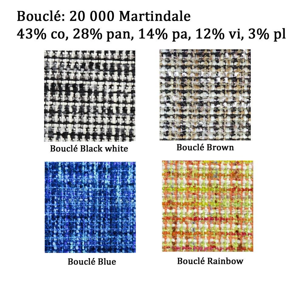Bezugsstoff Bouclé