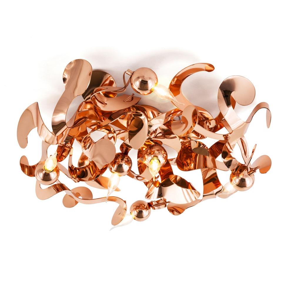 Brand van Egmond - Kelp Ceiling Round - Kupfer