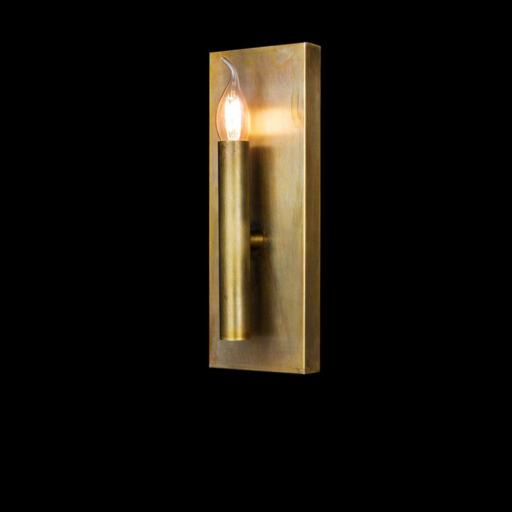 Wandleuchte Shiro Wall Lamp - Messing brüniert