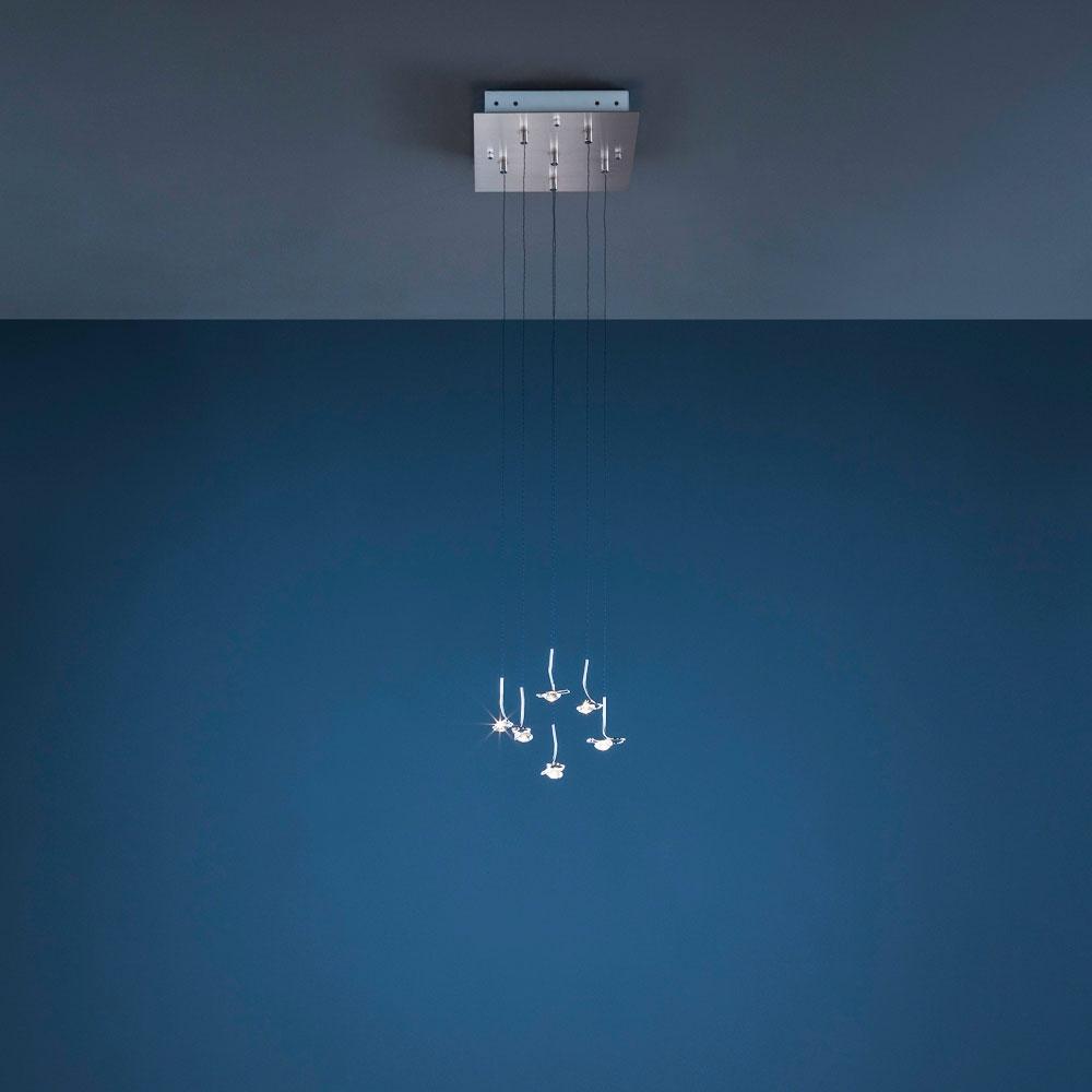 Jackie O Chandelier - 6 LEDs