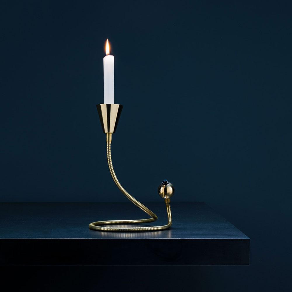 Tisch Kerzenhalter Miracolo - Messing