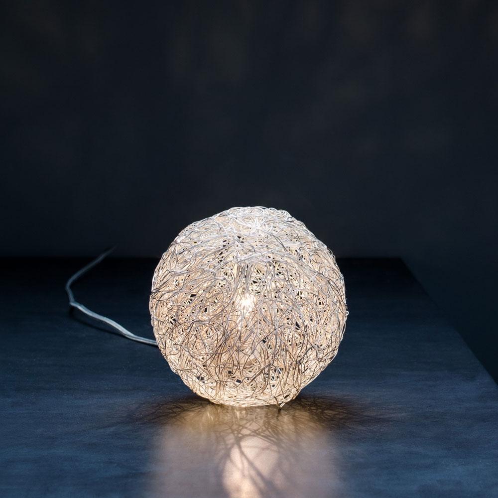 Tischleuchte Sweet Light T - Aluminium