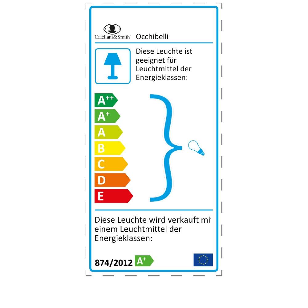 Tischleuchte Occhibelli - EU Label
