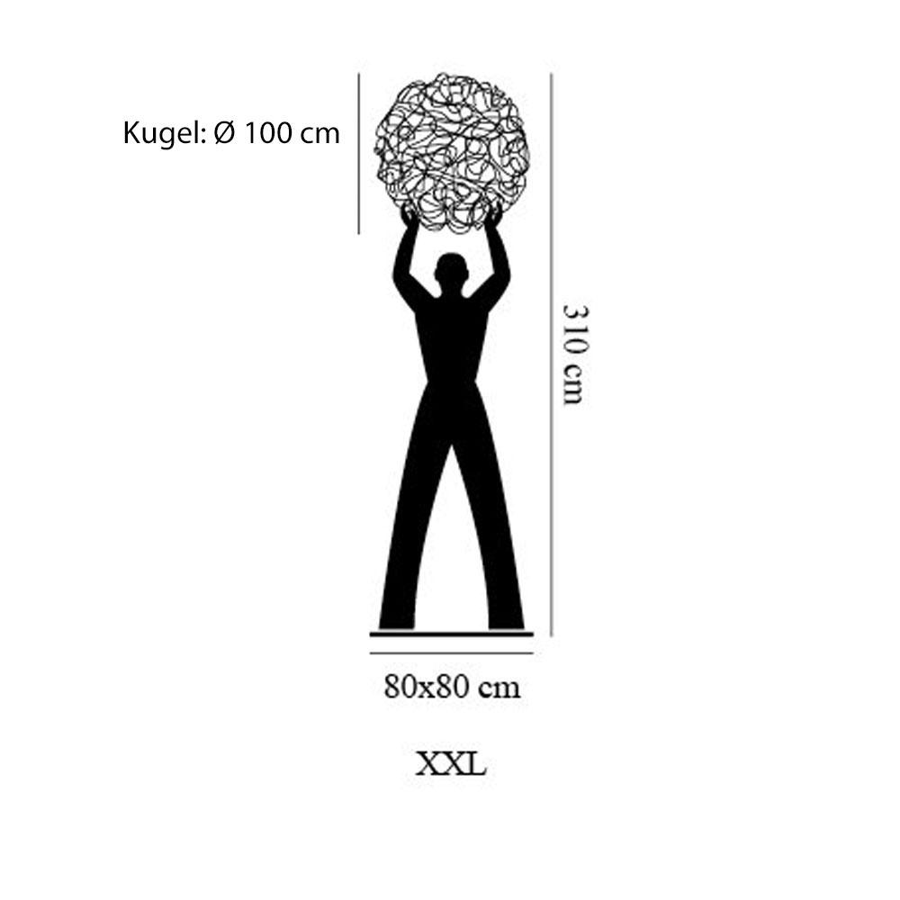 Uomo Della Luce XXL IP65 - Maße
