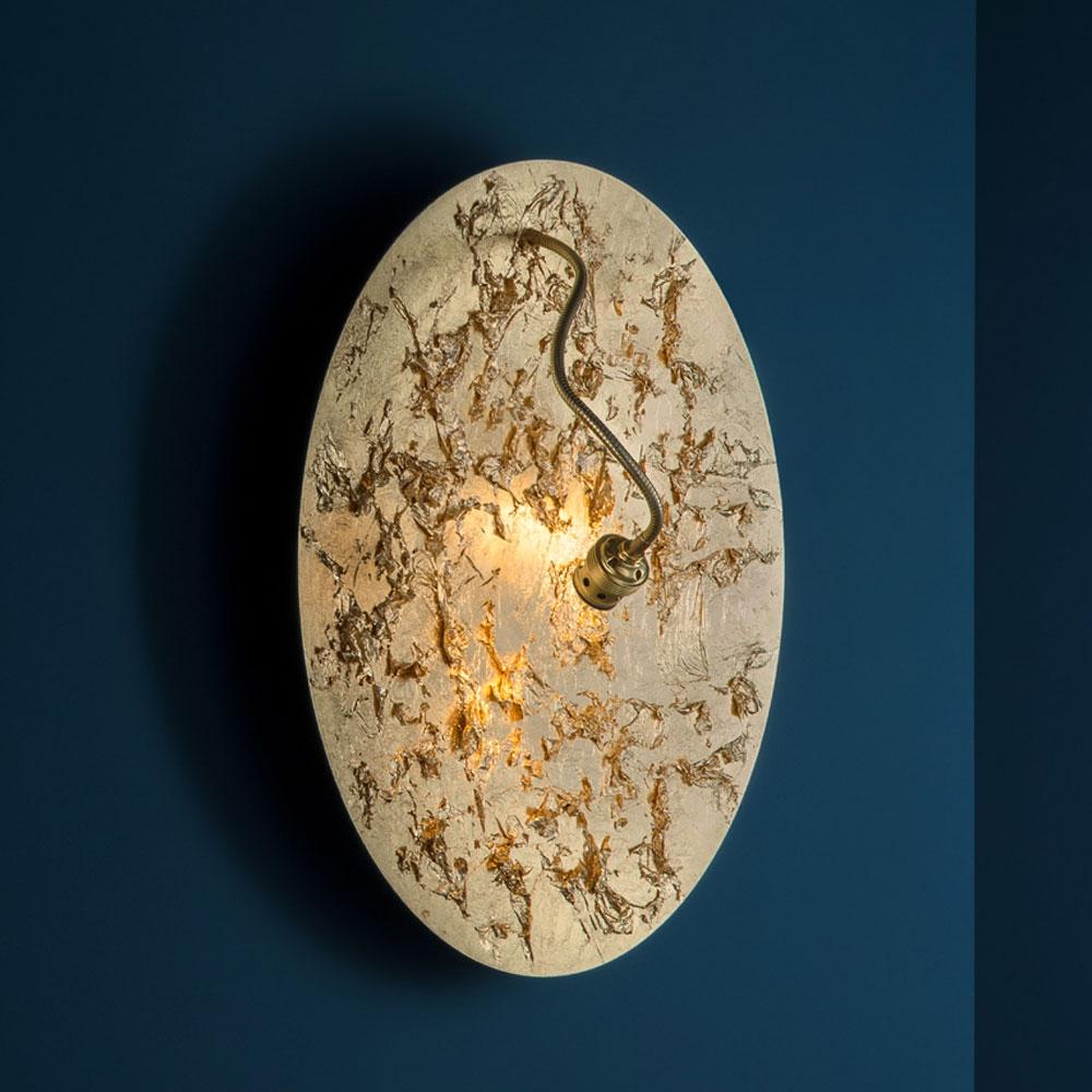 Wandleuchte Luna Piena - gold