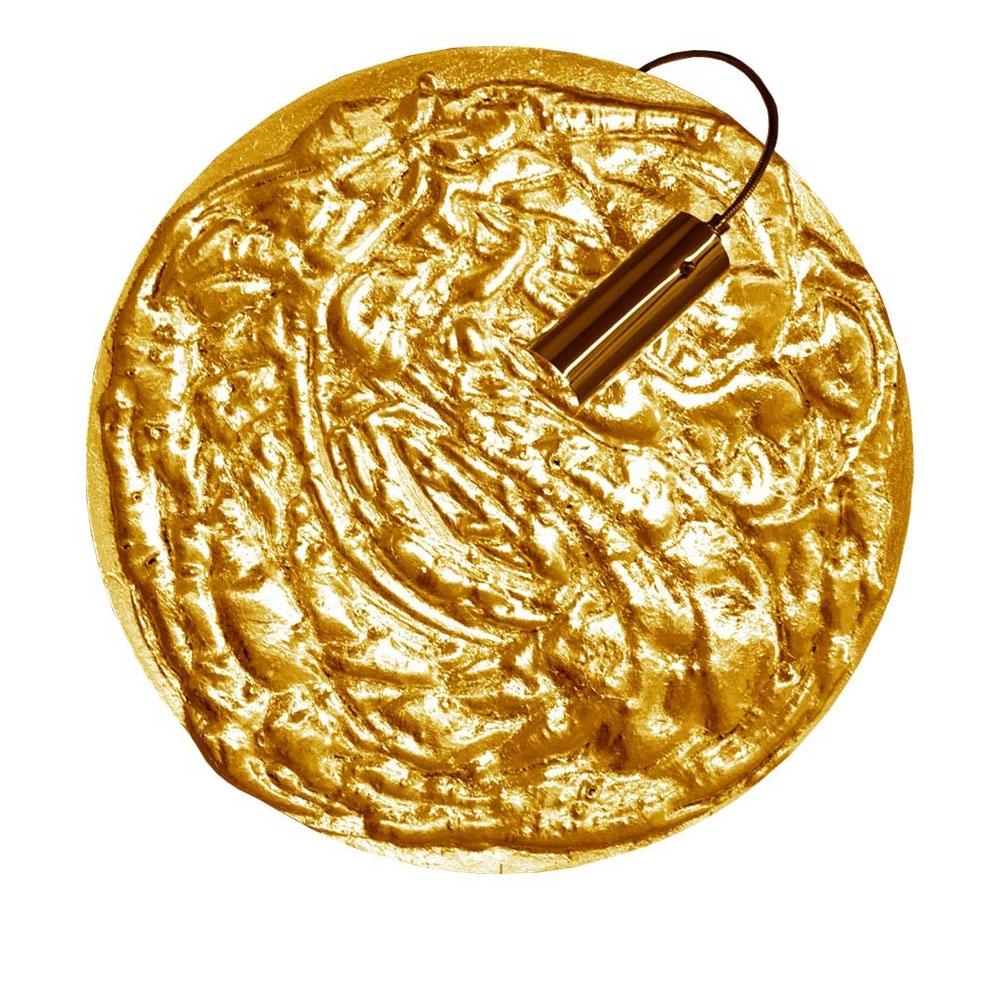 Catellani & Smith Wandleuchte Stchu-Moon 06 - Gold