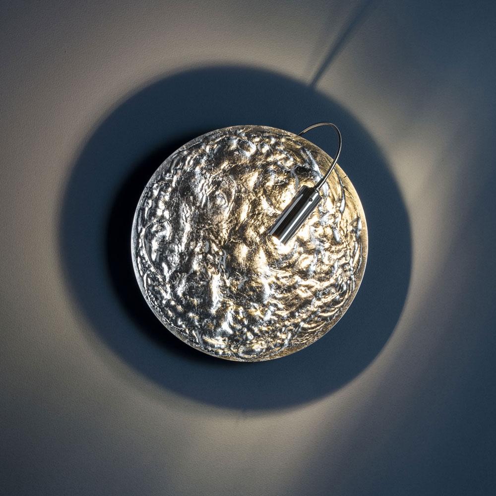 Wandleuchte Stchu-Moon 06 - silber