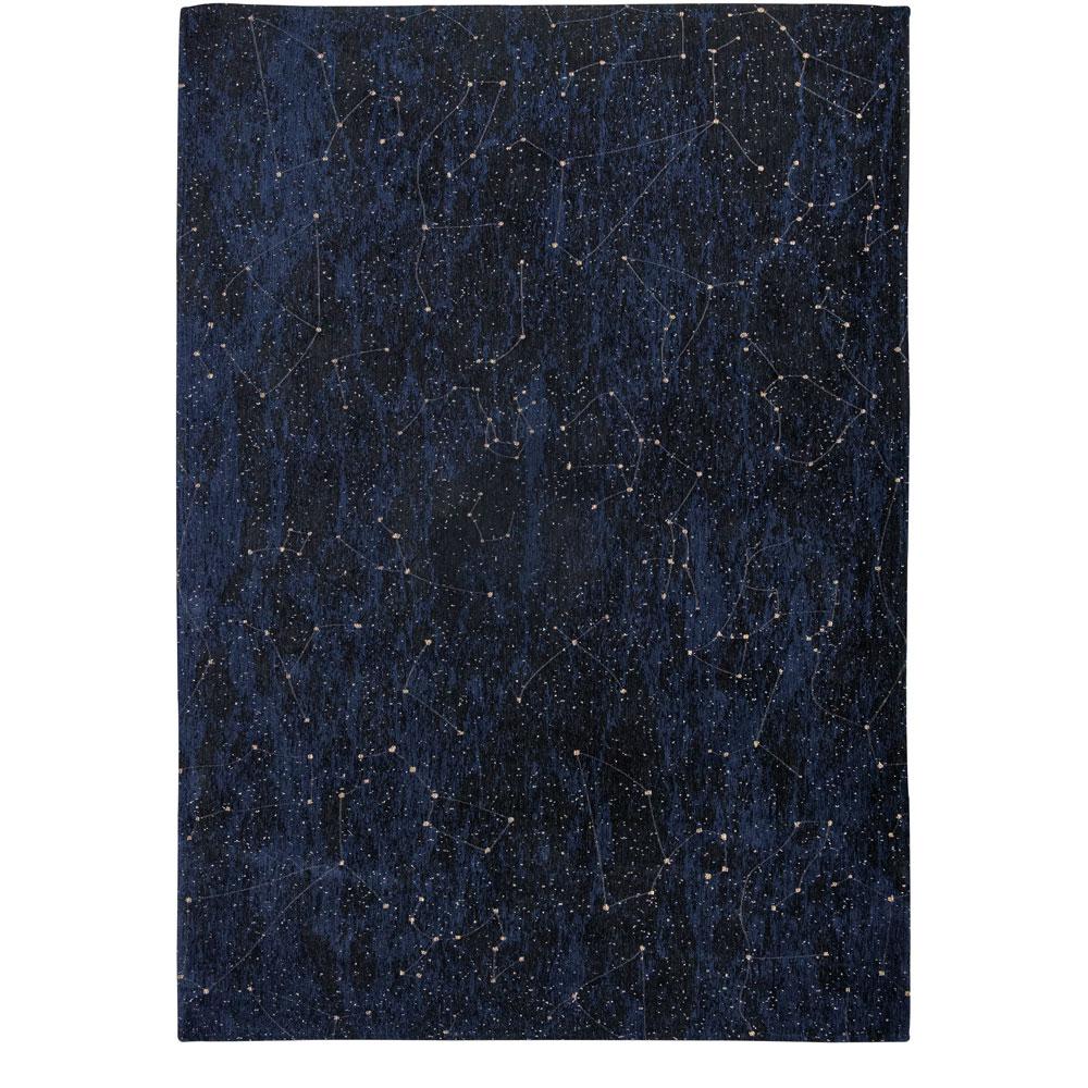 Christian Fischbacher Teppich Celestial - Farbe Midnight Blue