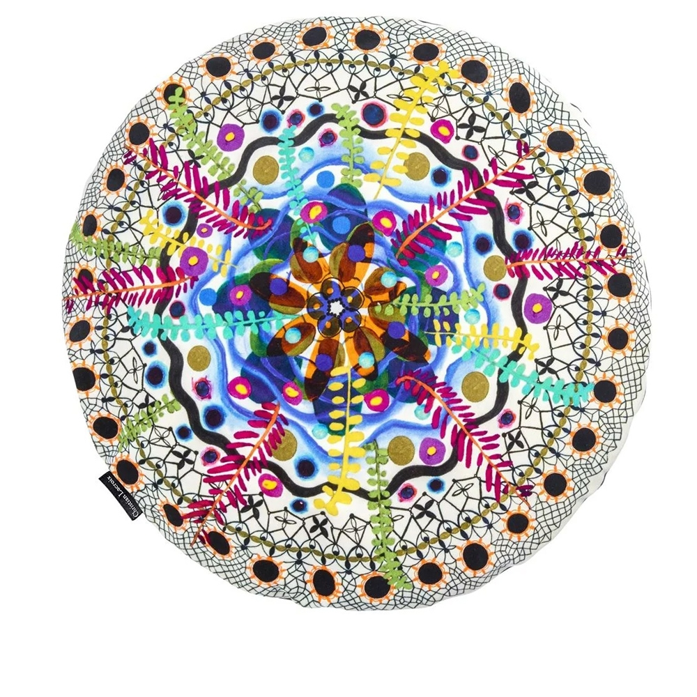 Christian Lacroix Kissen Rosetta Multicolore - Vorderseite
