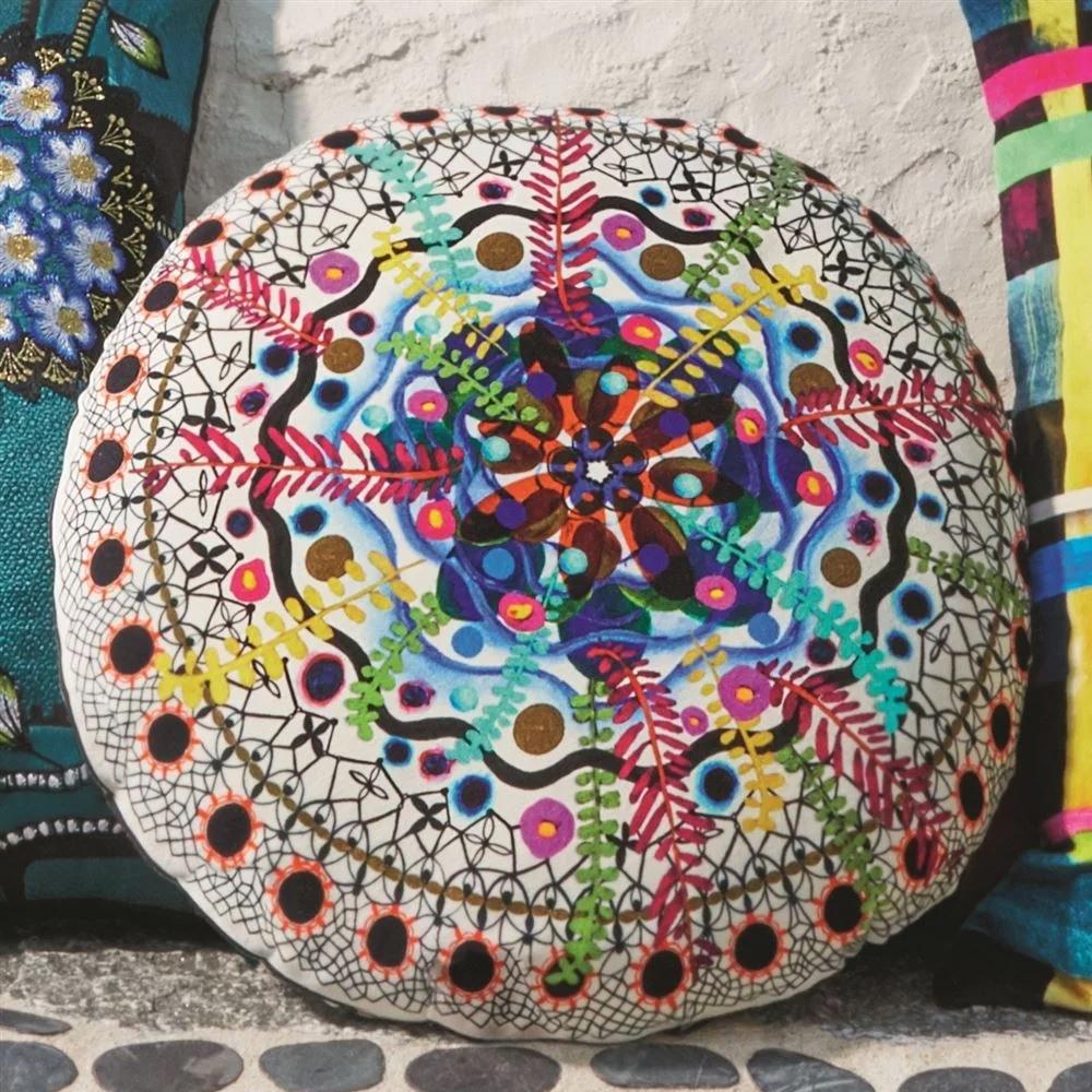 Christian Lacroix Kissen Rosetta Multicolore