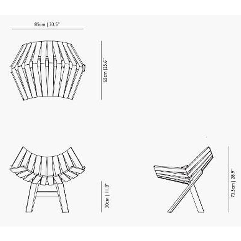Clip Chair - Maße