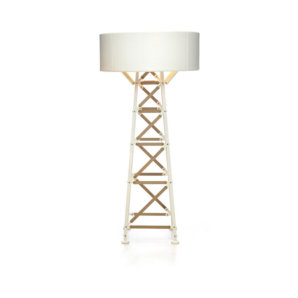 Construction Lamp M- weiß
