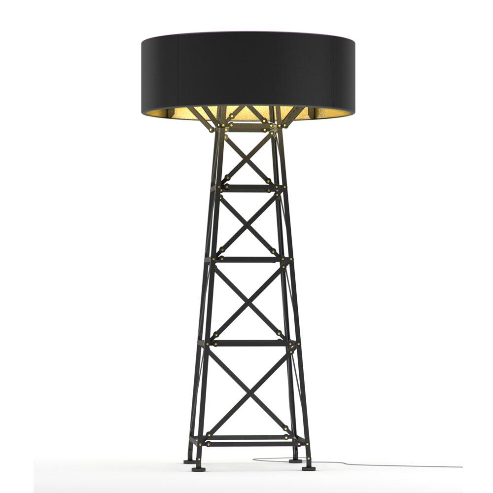 Construction Lamp L- schwarz