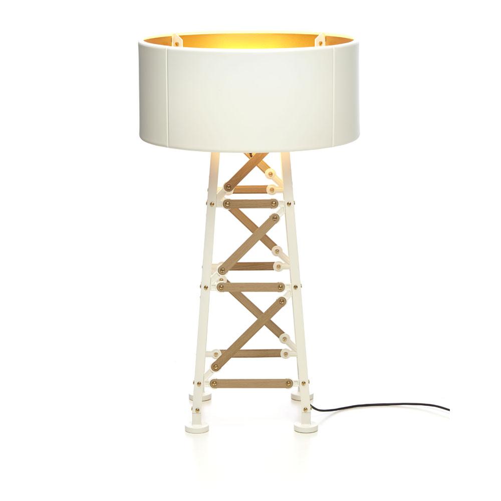 Construction Lamp S, schwarz/ weiß