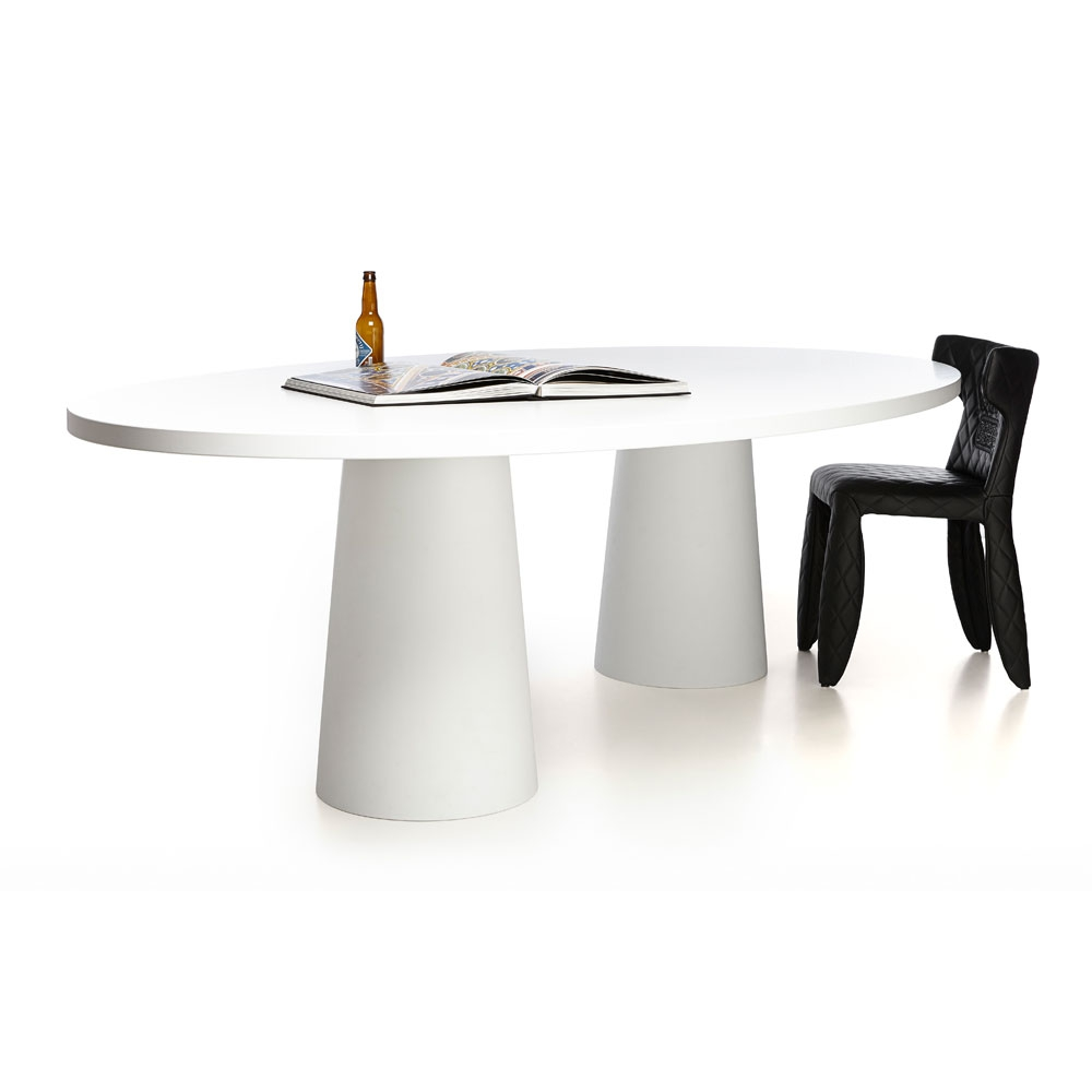 Container Table Oval - 25 RAL Farben
