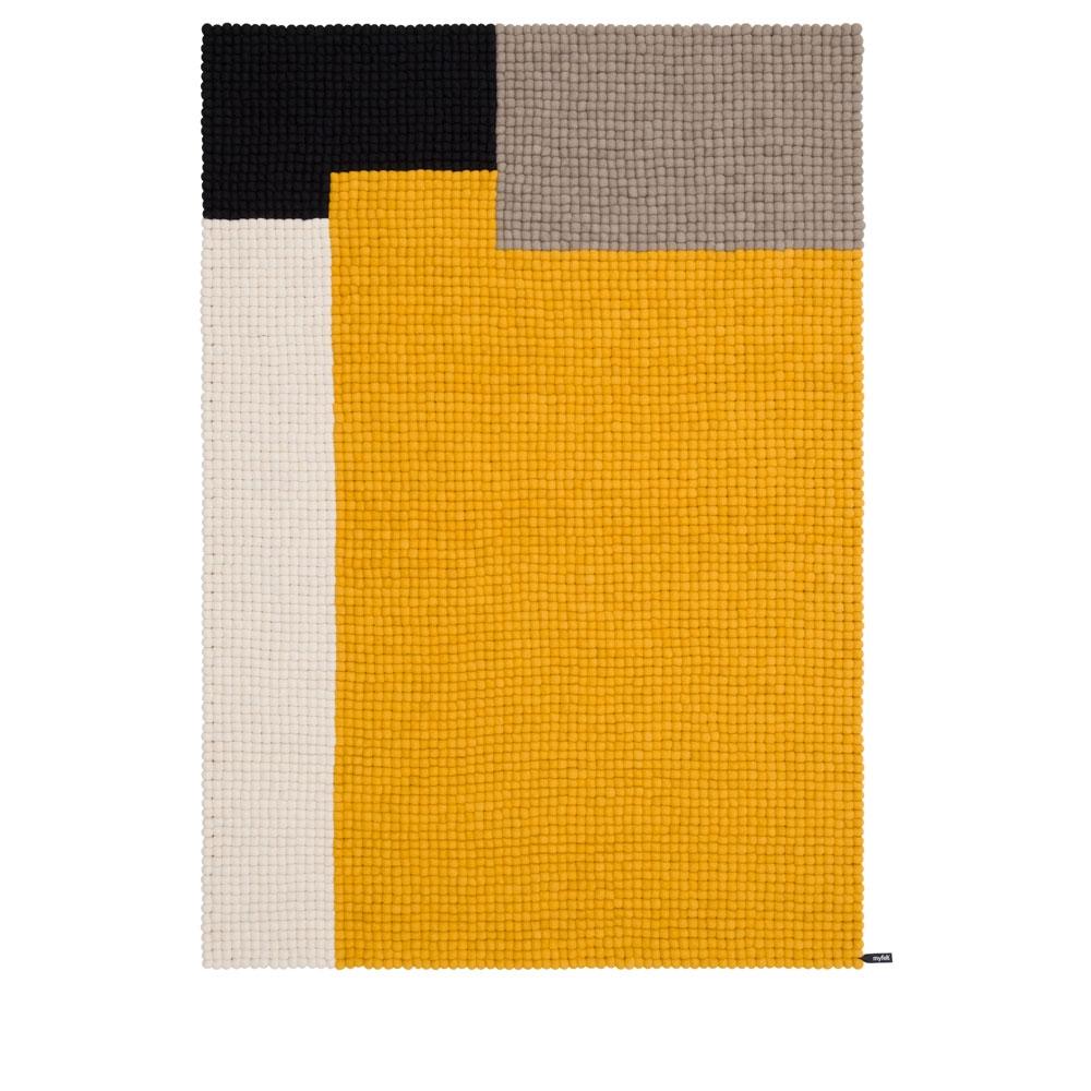 Cube - Senfgelb - 140x200 cm