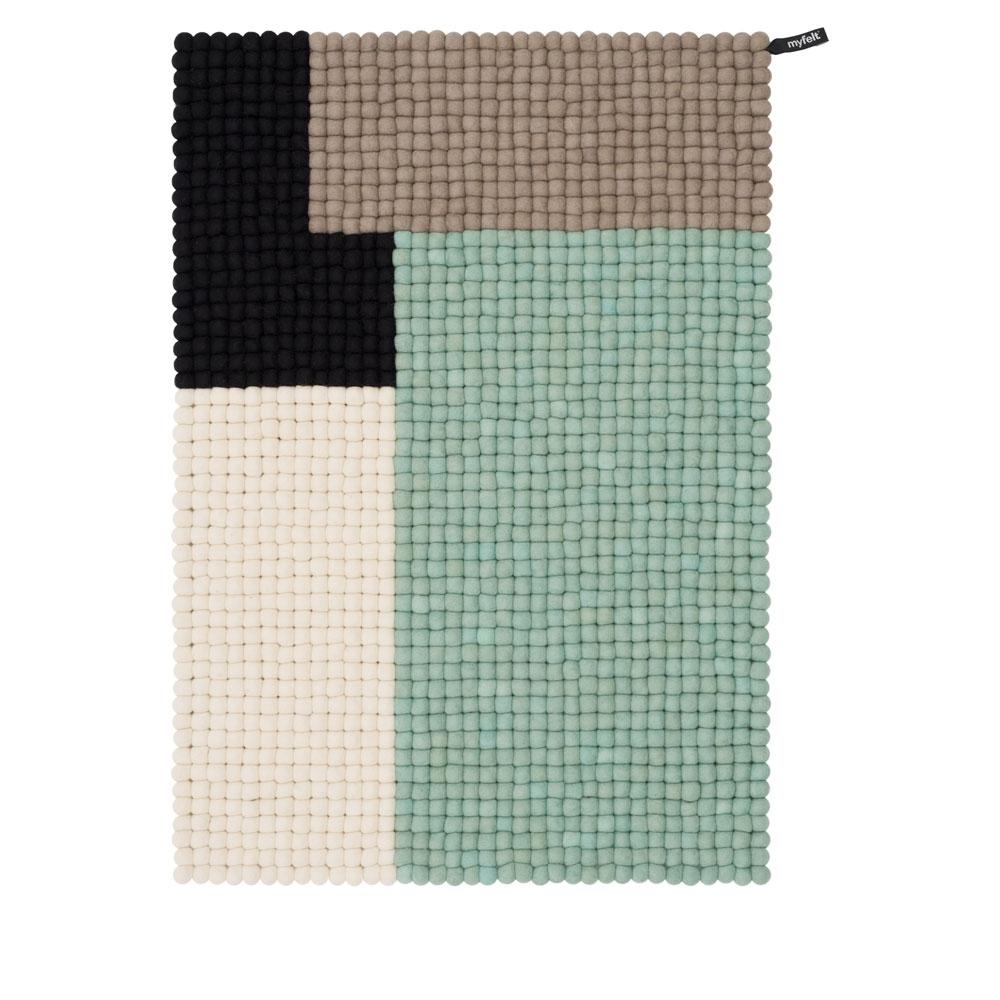 Cube - Mint - 70x100 cm