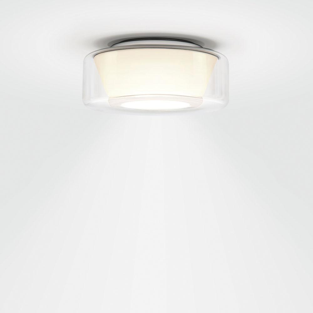 Curling Ceiling - glasklar/ Reflektor konisch opal