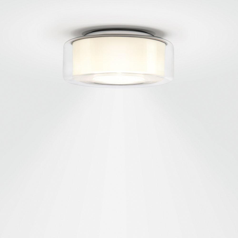 Curling Ceiling - glasklar/ Reflektor zylindrisch opal