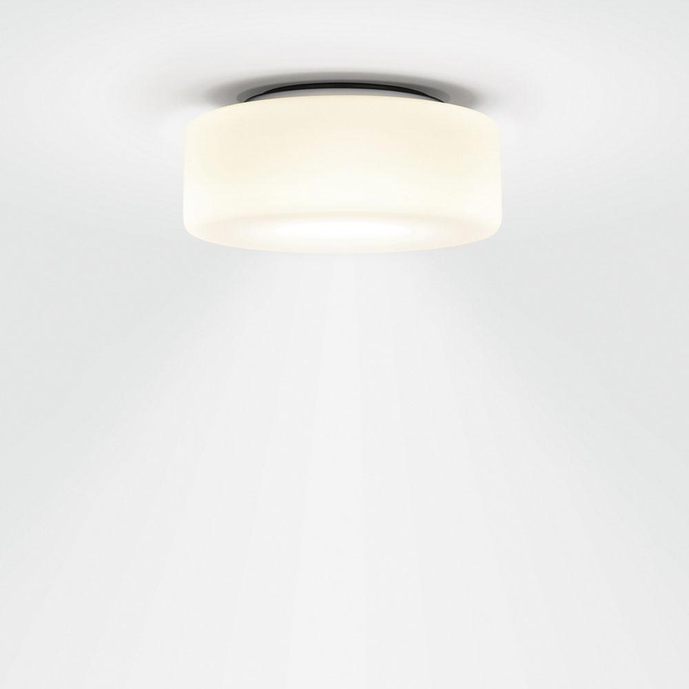 Curling Ceiling - Glasschirm opal