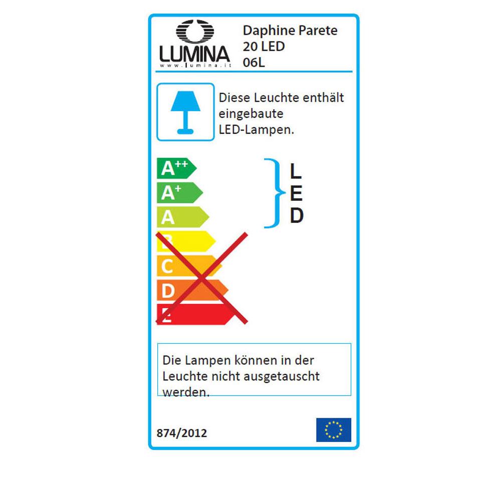 Daphine Parete LED - EU Label