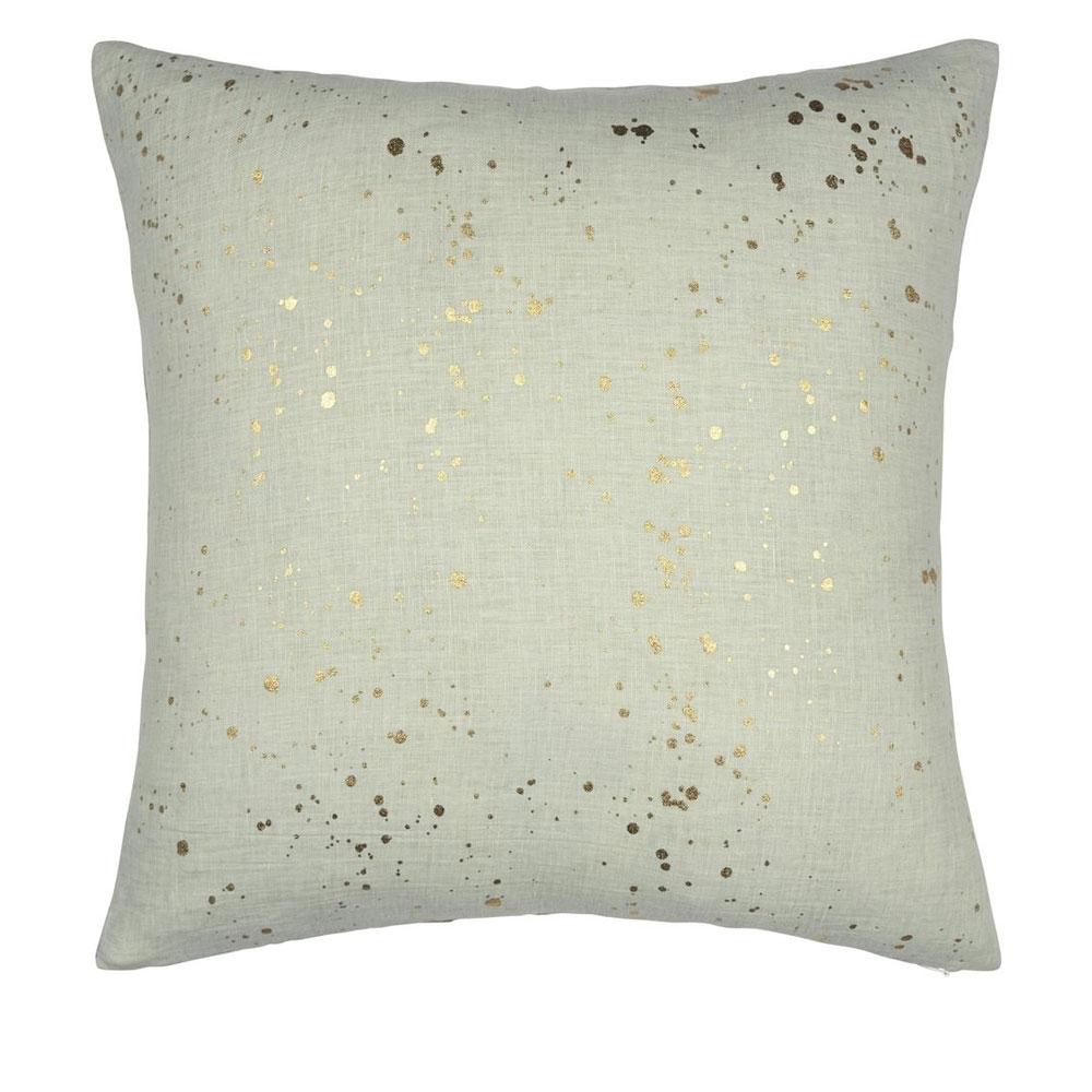 Designers Guild Kissen - Carrara Fiore Platinum - Rückseite