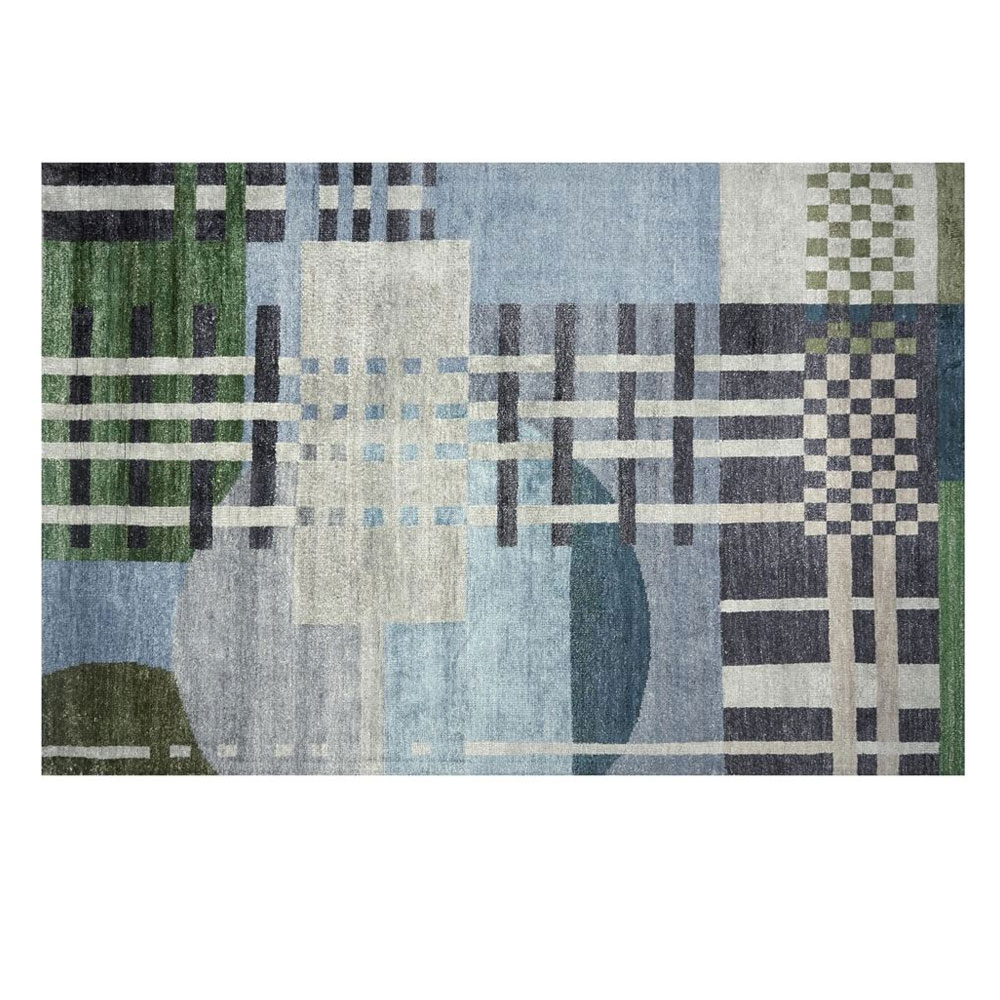 Teppich Chandigarh - Farbe Aqua