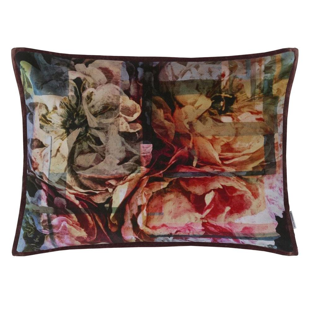 Designers Guild Kissen Fleur Nouveau Fuchsia - Vorderseite