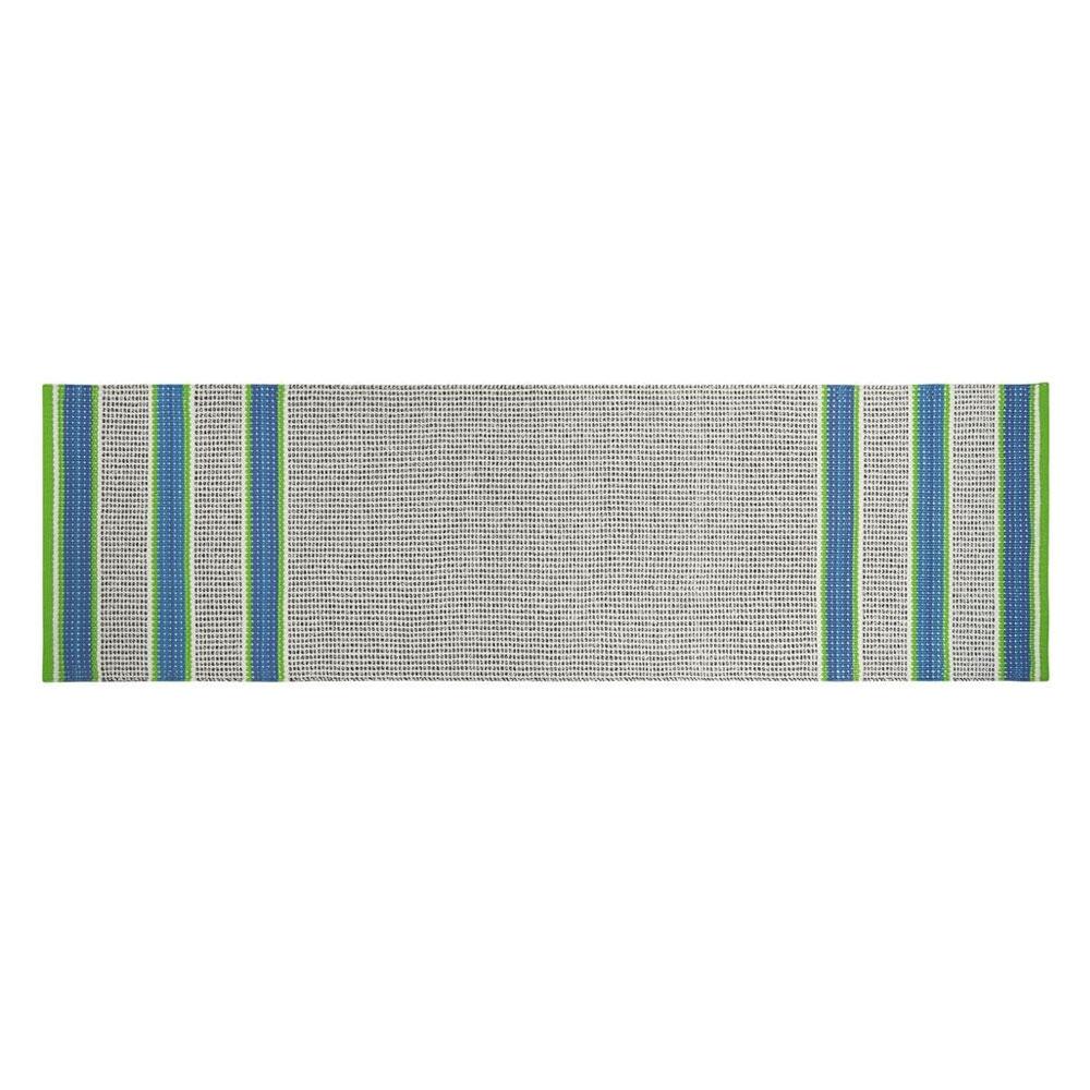 Designers Guild Outdoor/ Indoor Teppich Läufer Pompano Cobalt