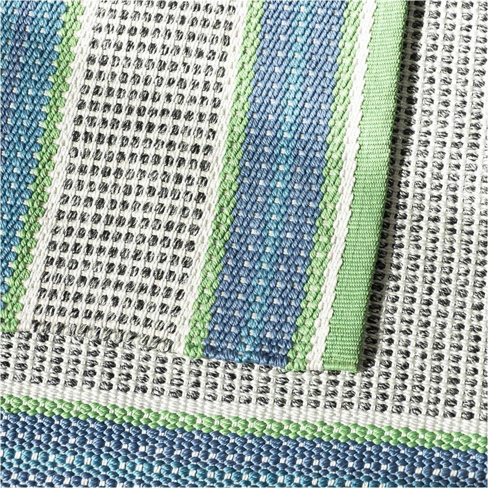 Outdoor/ Indoor Teppich Pompano Cobalt - Detailansicht