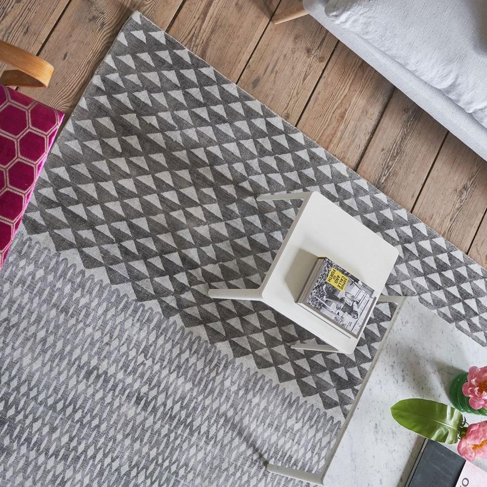 Teppich Katiya Platinum - Detailansicht