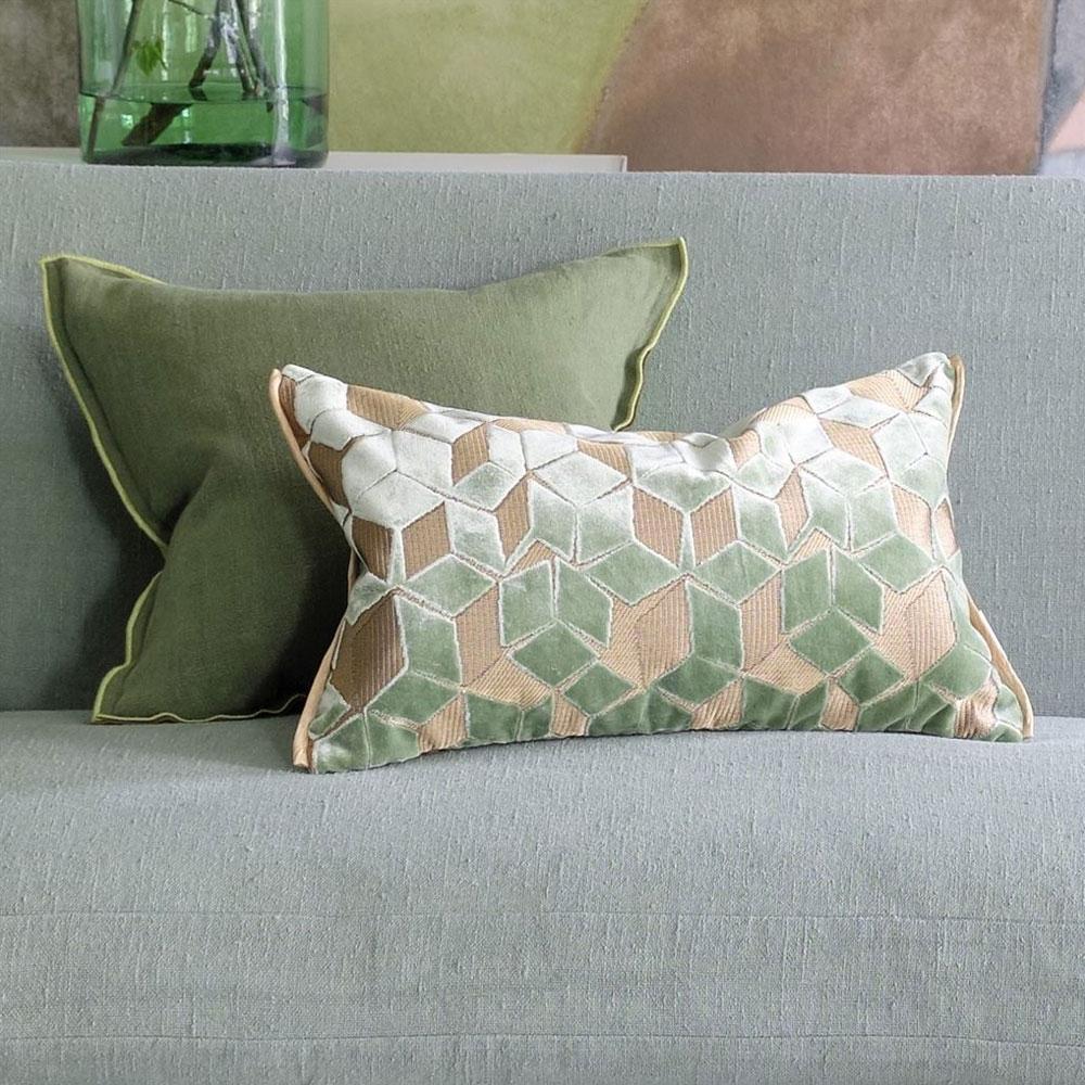 Designers Guild Kissen Fitzrovia Antique Jade