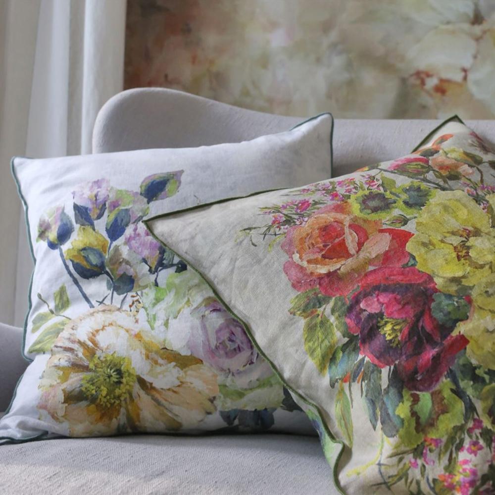 Designers Guild Kissen Grandiflora Rose  Dusk & Epice