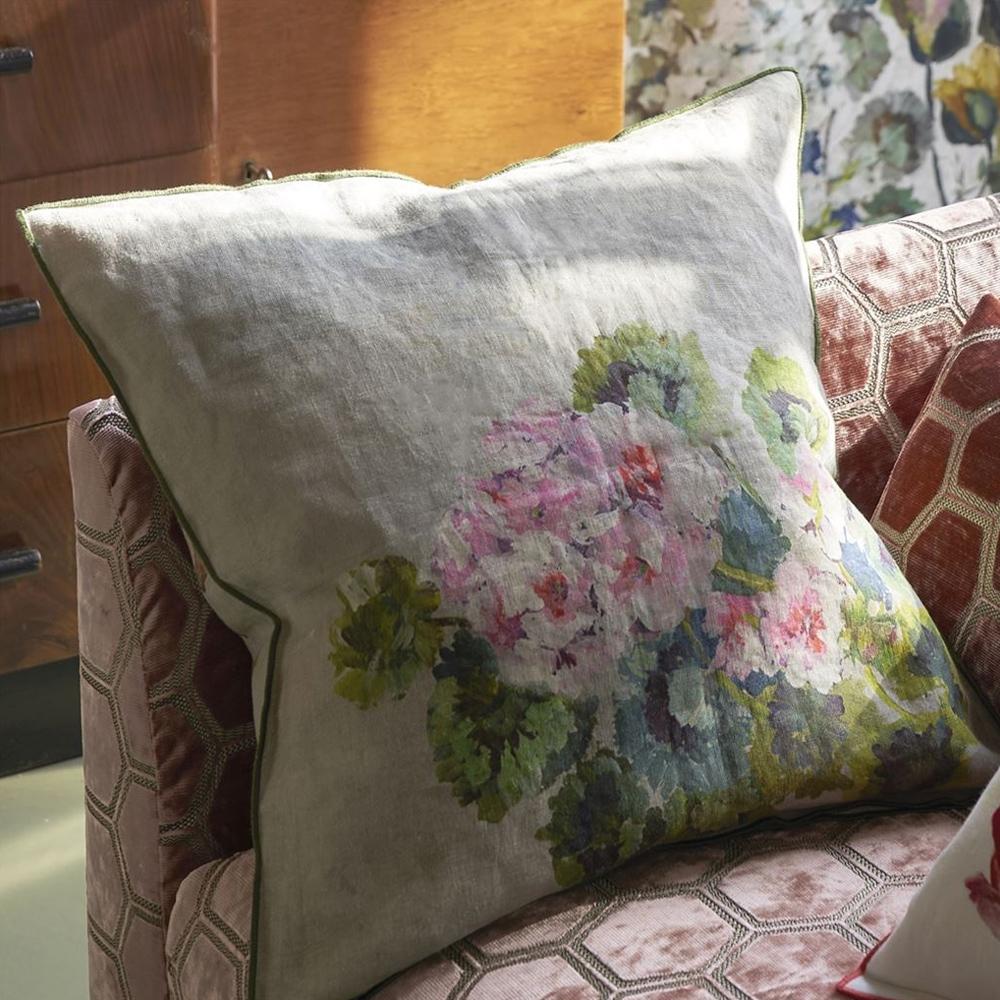 Designers Guild Kissen Grandiflora Rose Epice - Rückseite