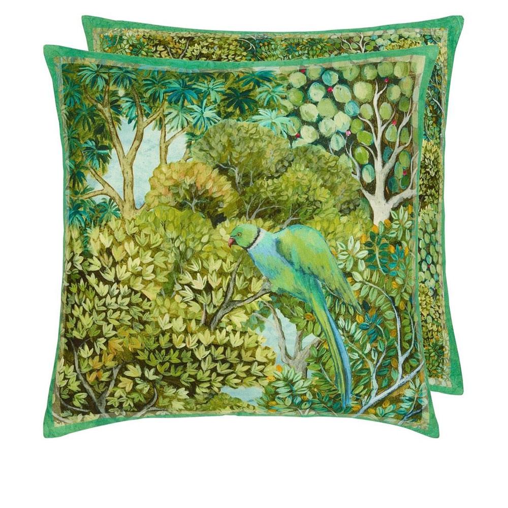 Designers Guild  Wendekissen Haryana Emerald
